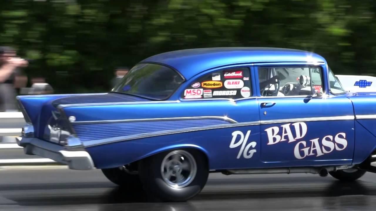 American Bracket Racer nostalgia drag racing - YouTube