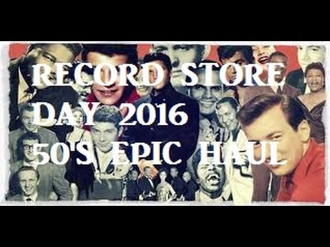 BLACK FRIDAY RECORD STORE DAY RSD 2916 EPIC HAUL!!