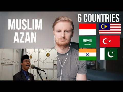 MUSLIM AZAN FROM SIX COUNTRIES