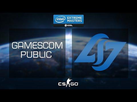 CS:GO - Pros vs Audience Showmatch #2 [Dust2] - IEM 2015 Gamescom - Day 3
