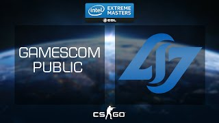 CS:GO - Pros vs Audience Showmatch #2 [Dust2] - IEM 2015 Gamescom - Day 3