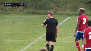 Spielaufzeichnung: Sturm Graz 3:4 Vasas Budapest (3:0)