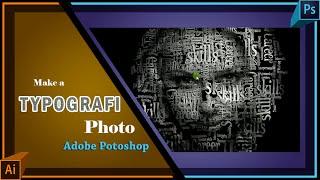 Cara membuat tipografi wajah dengan photoshop simple