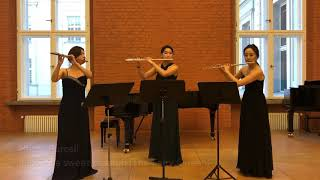 Henry Purcell - The Fairy Queen - If love's a sweet passion (Flute East Trio)