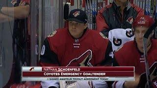 NHL Emergency Goalies Part 2