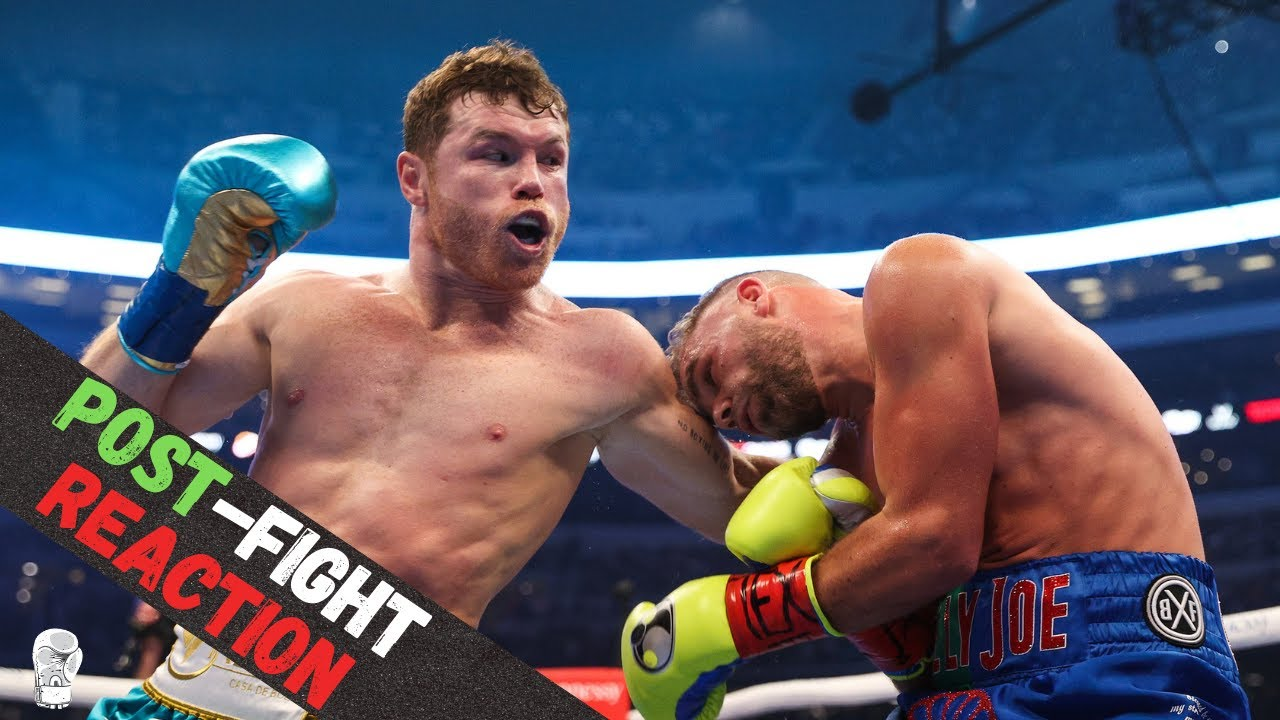 Canelo vs. Saunders result: Canelo breaks down Saunders, forces ...