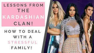 LESSONS KIM KARDASHIAN & KYLIE JENNER: How To Deal With Anxiety & A Stressful Family | Shallon