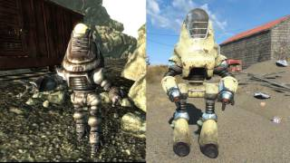 Fallout 3 vs Fallout 4 Comparison Armor, Monsters, Weapons!