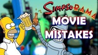 THE SIMPSONS & Futurama SIMPSORAMA Movie MISTAKES You Didn't See