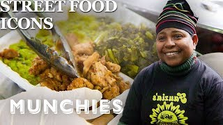 The Jerk Chicken Queen of the Bronx - Street Food Icons