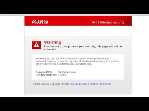 How to access websites blocked by avira internet security youtube how to access websites blocked by avira internet security ccuart Image collections