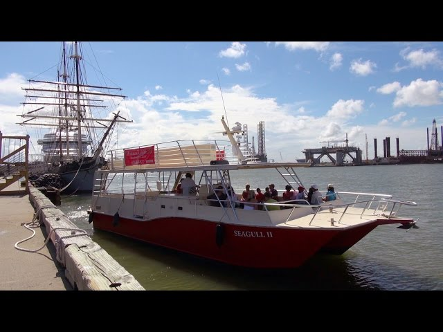 Galveston Harbour Tours