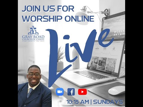 Sunday Morning at The Gray Live: You Are Not Alone, Fighting Temptations Sermon Series