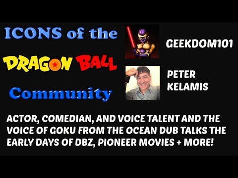 PETER KELAMIS Interview: English Dub Voice of Goku + Rolf from Ed, Edd, & Eddy