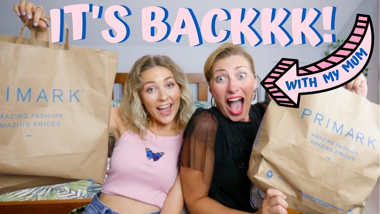 OUR FIRST POST LOCKDOWN PRIMARK HAUL JULY 2020 WITH MY MUM! | McKenna Grace
