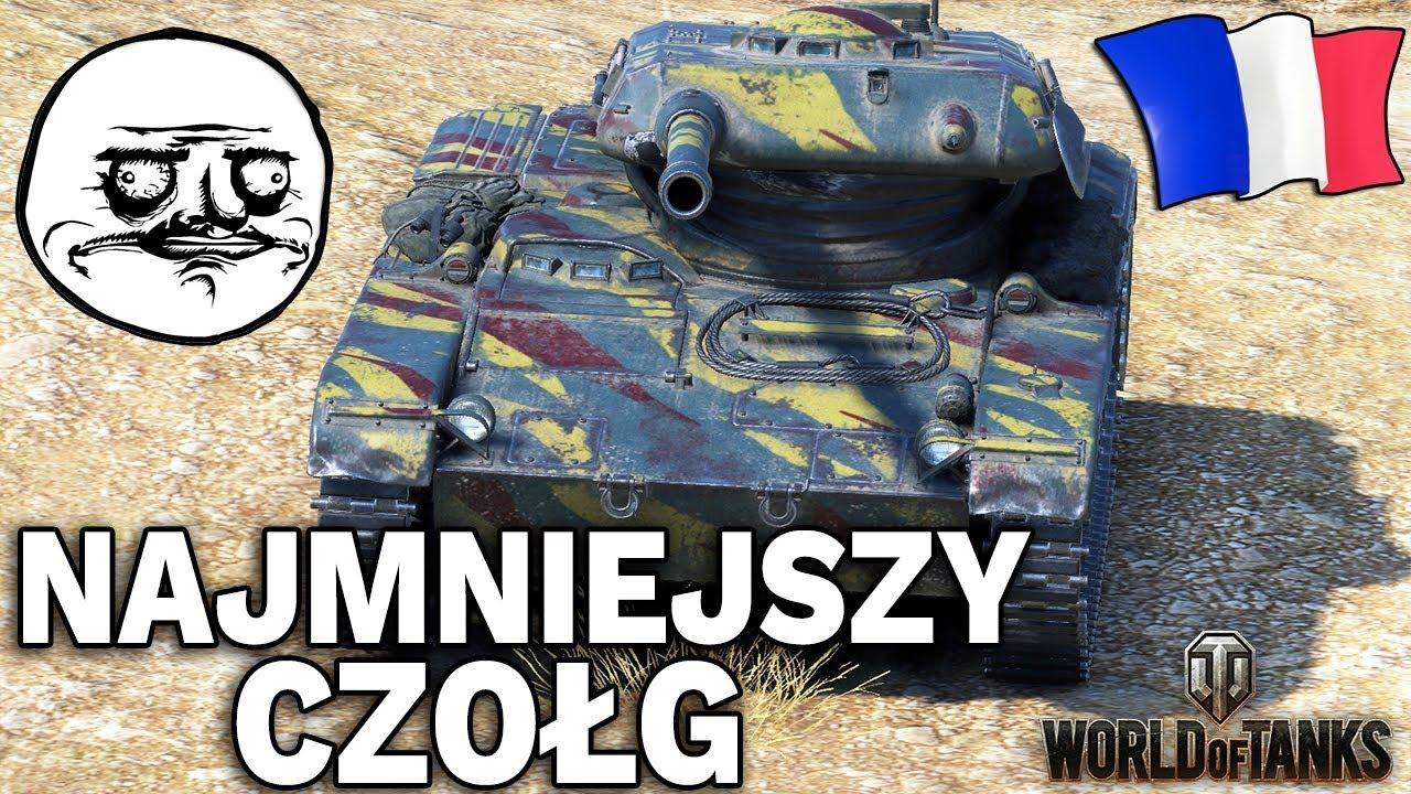 NAJMNIEJSZY CZOŁG – ELC EVEN 90 – World of Tanks