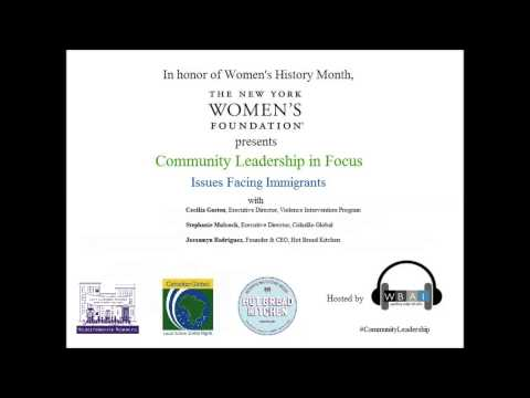 Community Leadership in Focus: Immigrant Women
