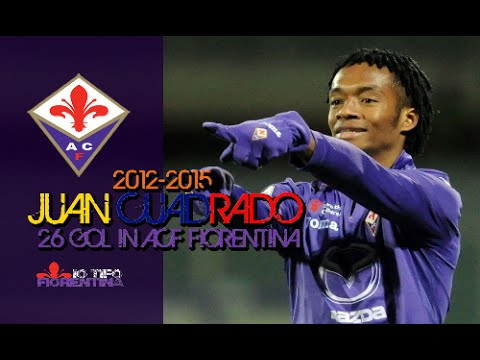 ⑪ Juan Cuadrado ● All 26 Gol in ACF Fiorentina