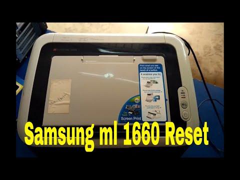 Samsung Ml 1660 Reset