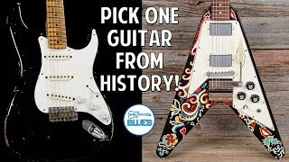 Biggest Guitar Regret & Pick Any Guitar From History to Keep!? - 5 Quick Questions #6