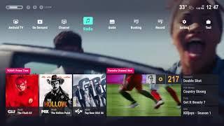 Smart TV UI Concept 03