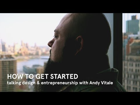 How to Get Started, an interview with Andy Vitale, UX Design Leader