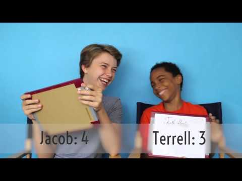 Jacob Hopkins and Terrell Ransom Jr. Find Out How Well They Know Each Other  WHOSAY