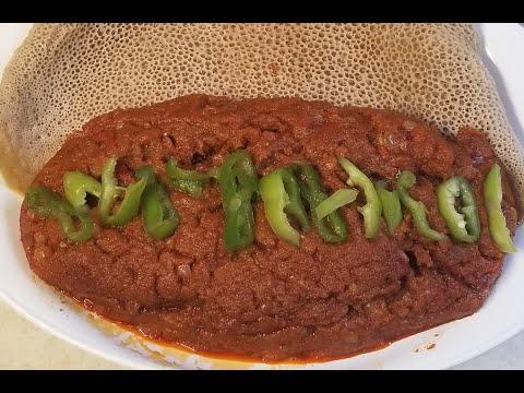 Shiro Tagabino  – Shiro wat /Wot – Ethiopian Food Tegabinn Shiro