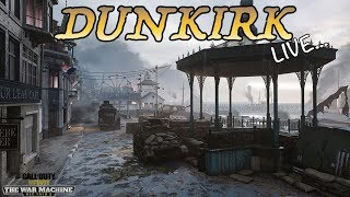 """CALL OF DUTY: WWII - """"DUNKIRK"""" LIVE DLC GAMEPLAY! DESTROYING WITH THE NEW ITRA BURST ASSAULT RIFLE!"""