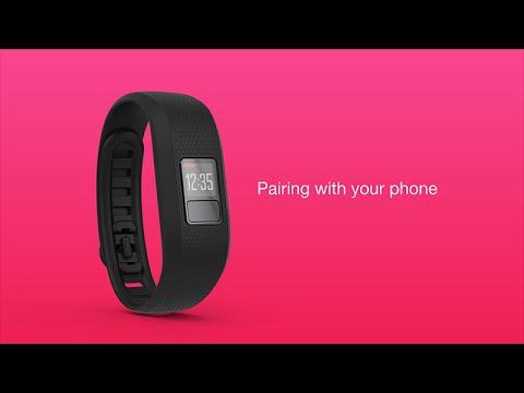 vívofit 3 - Pairing to a Compatible Smartphone (English)