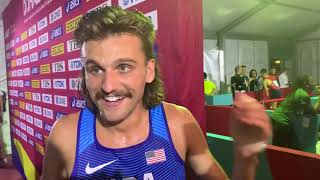 Craig Engels fires back at Jenny Simpson, talks Alberto Salazar after round 1 of 1500 at Worlds