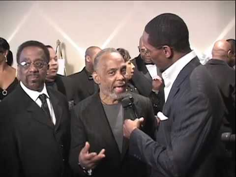 Frankie Beverly and Maze on the Red Carpet of the 2010 Trumpet Awards