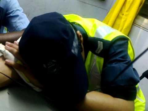 CERTIS CISCO SECURITY ISHAM SLEEPING DURING 2010 F1