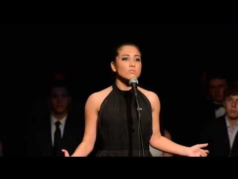 Regional finalist Hannah at the Michael Feinstein Great American Songbook Competition, First Song