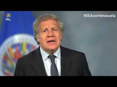 Venezuela.- Almagro envía mensaje al pueblo venezolano- VPItv