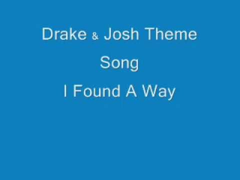 Drake & Josh Theme Song (I Found A Way)(Lyrics on Screen)