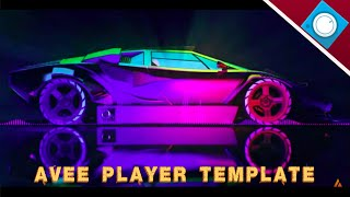 Template Avee player keren free 04 [ No copyrightsong ]