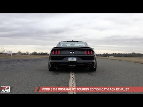 Awe Ford S Mustang Gt Touring Edition Cat Back Exhaust
