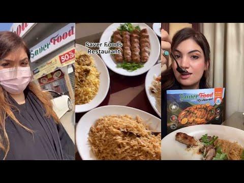 Saver Food's Restaurant Dubai 🇦🇪 | Ziba Gulley viral video | Tik tok viral video | ZIBA GULLEY🔥