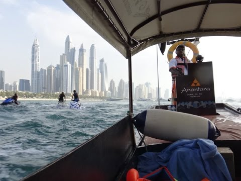 The Palm, Dubai - Anantara Resort's Thai Longboat Tour