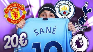 UNBOXING: cheap swimsuits | SPECIAL FIRST LEAGUE ⚽️ !! (Manchester United, City, Tottenham)