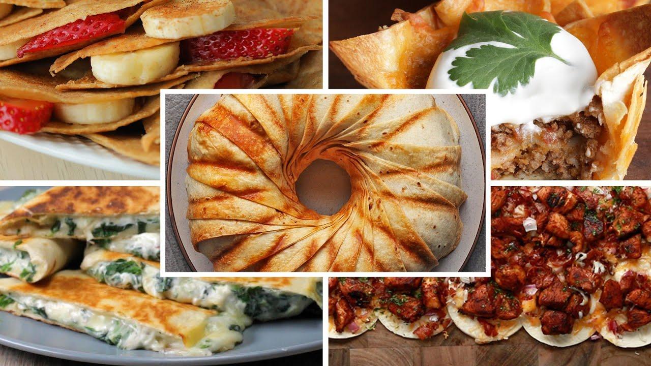 8 Unique Ways To Use Tortillas