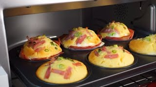 핫케익 가루로 베이컨 계란빵 만들기(종이컵 개량) | …