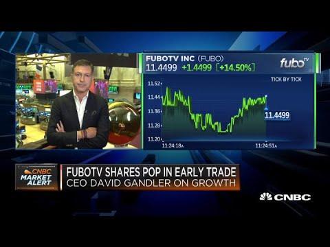 FuboTV CEO and co-founder David Gandler on its trading debut