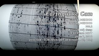 Earthquake Cam - Jalisco, Mexico M6.2 . 6.7.2016 ( 地震ウェブカメラ )