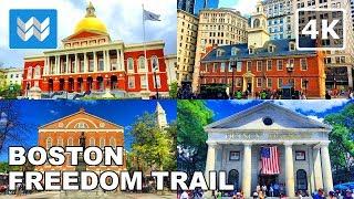 Boston Walking Tour - The Freedom Trail | Travel Guide【4K】 screenshot 4