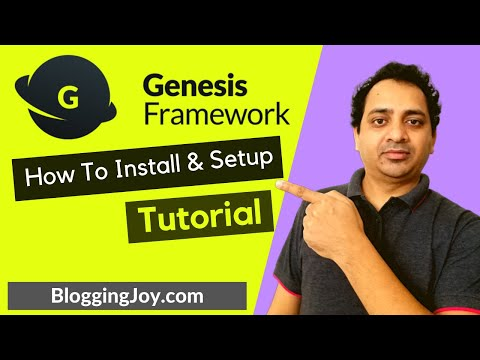 Genesis Framework Tutorial 2020 | How To Install, Set Up, SEO Settings, Customize Theme Design