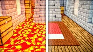 The floor is lava в майнкрафт пе?!