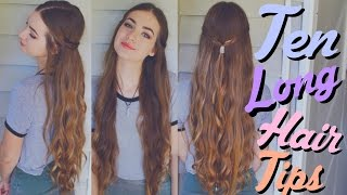 10 Tips for Growing Long, Healthy Hair! | beautybyasha