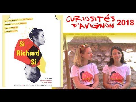 Emission 23   Curiosités d'avignon    Si Richard si